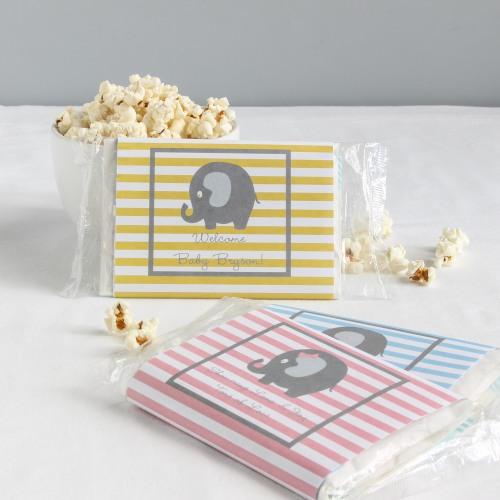 Elephant Baby Shower Theme announcement Decorations & Favor Bags Ideas 34