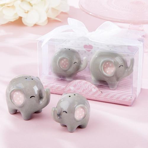 Elephant Baby Shower Theme announcement Decorations & Favor Bags Ideas 37