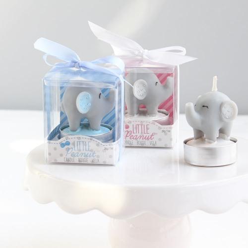 Elephant Baby Shower Theme announcement Decorations & Favor Bags Ideas 38