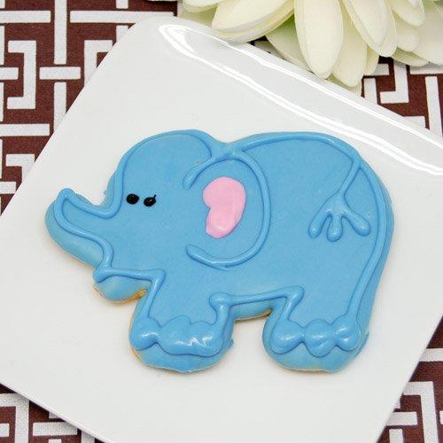 Elephant Baby Shower Theme announcement Decorations & Favor Bags Ideas 43