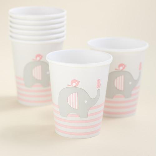 Elephant Baby Shower Theme announcement Decorations & Favor Bags Ideas 46