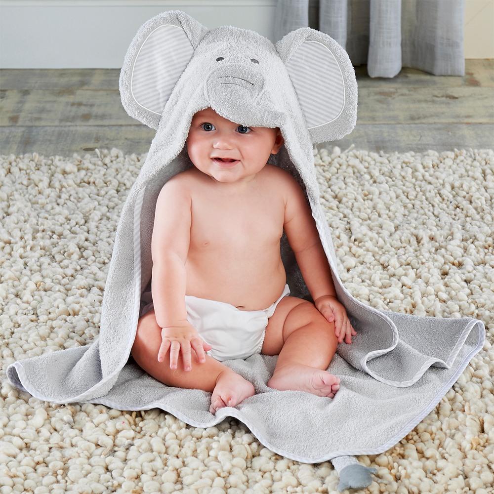 Elephant Baby Shower Theme announcement Decorations & Favor Bags Ideas 55