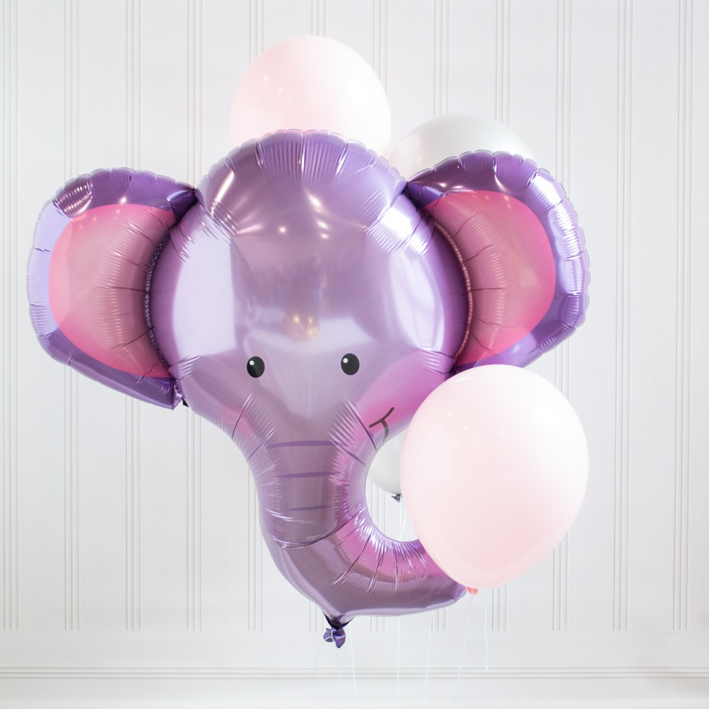 Elephant Baby Shower Theme announcement Decorations & Favor Bags Ideas 56