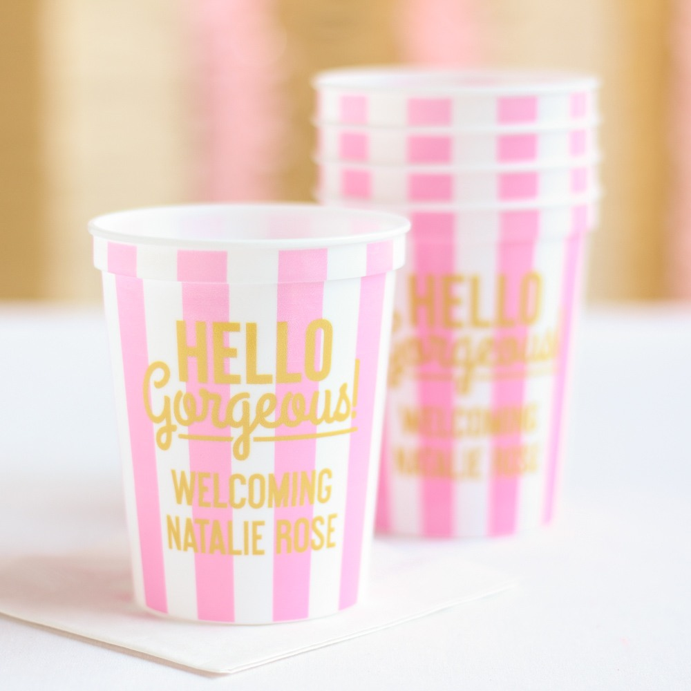 85+ Hello Gorgeous Baby Shower Theme Decorations2