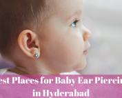 Baby Ear Piercing in Hyderabad