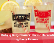 Baby-q Baby Shower Theme Decorations & Party Favors 49
