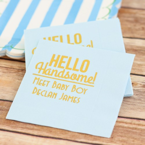 70+ Hello Handsome Baby Shower Theme Decorations & Party Ideas 1