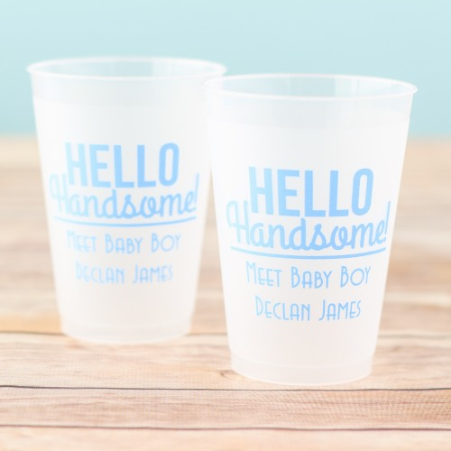 70+ Hello Handsome Baby Shower Theme Decorations & Party Ideas 4