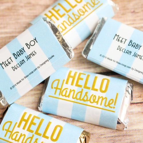 70+ Hello Handsome Baby Shower Theme Decorations & Party Ideas 9