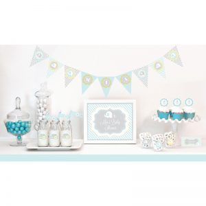 It's a Boy Baby Shower Theme Decorations153