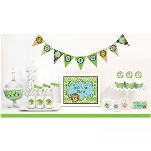 It's a Boy Baby Shower Theme Decorations170