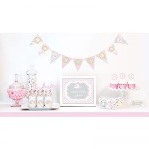 It's a Girl Baby Shower Theme Decoration170