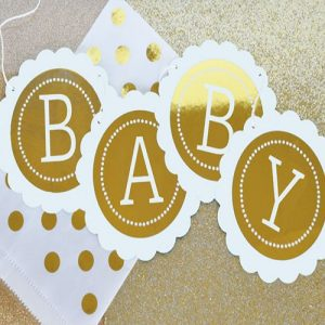 It's a Girl Baby Shower Theme Decoration180