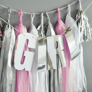 It's a Girl Baby Shower Theme Decoration200