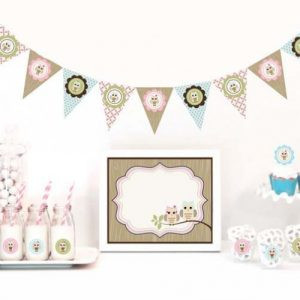 It's a Girl Baby Shower Theme Decoration208