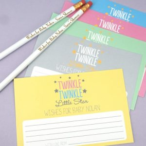 Twinkle Twinkle Baby Shower Theme announcement Decorations 11