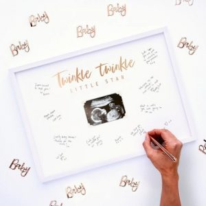 Twinkle Twinkle Baby Shower Theme announcement Decorations 12
