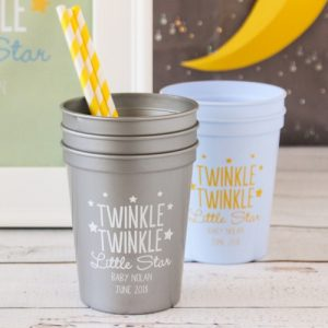 Twinkle Twinkle Baby Shower Theme announcement Decorations 17