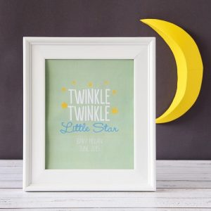 Twinkle Twinkle Baby Shower Theme announcement Decorations 55