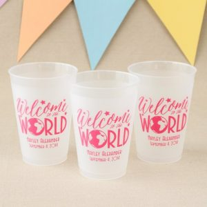 welcome to the world Baby Shower Personalized Theme Decoration Ideas & Gifts10