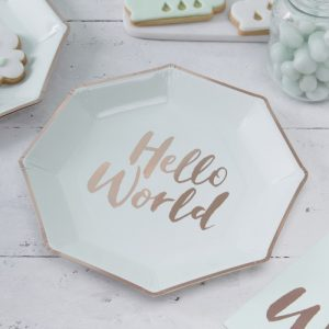 welcome to the world Baby Shower Personalized Theme Decoration Ideas & Gifts14