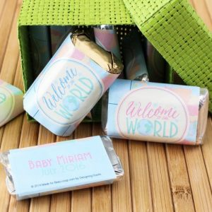 welcome to the world Baby Shower Personalized Theme Decoration Ideas & Gifts3