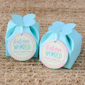 welcome to the world Baby Shower Personalized Theme Decoration Ideas & Gifts30