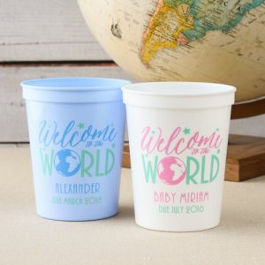 welcome to the world Baby Shower Personalized Theme Decoration Ideas & Gifts9