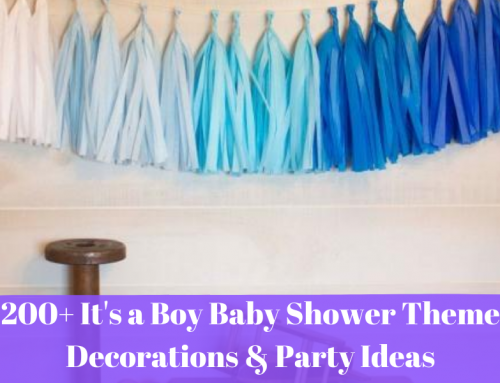 200+ It's a Boy Baby Shower Theme Decorations & Party Ideas
