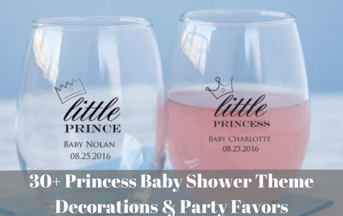 30+ Princess Baby Shower Theme Decorations & Party Favors